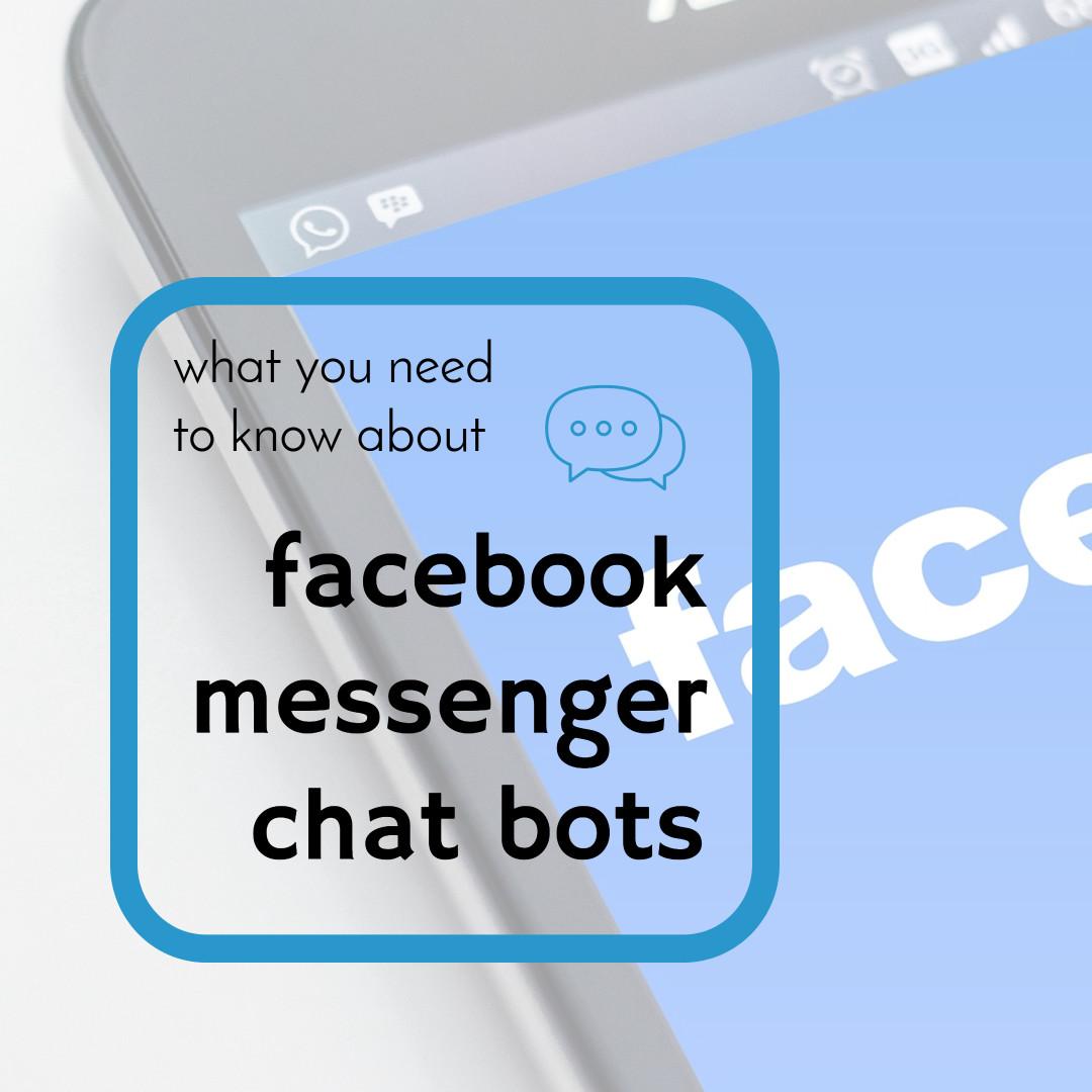 facebook messenger chat bots