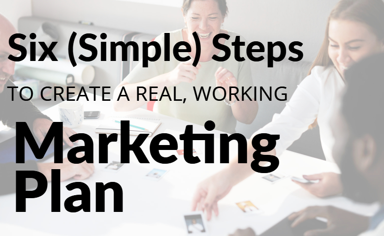 six steps marketing plan